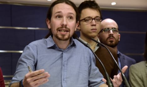 Spain's Podemos set to beat Socialists into second place