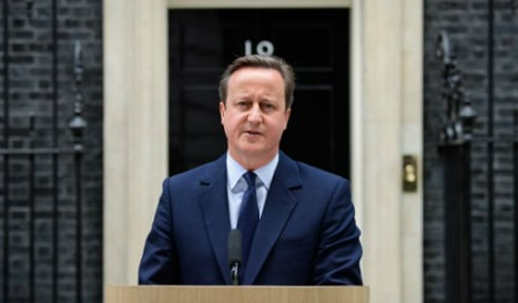 'I'll always stand up for Gibraltar' insists Cameron