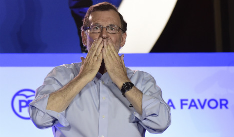Rajoy claims right to form government after poll win