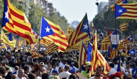 Catalan separatists overtake 'remainers' for the first time