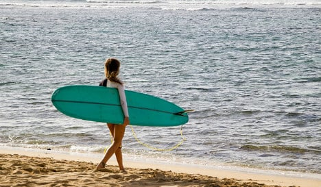 Girl rescued after night spent adrift on surfboard off Spain