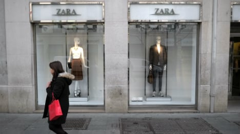 Zara goes green with cast-off clothing recycling bins