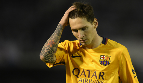 Messi to appeal 21-month jail term for tax fraud in Spain