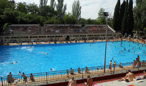 Get your kit off! Madrid to host 'no swimsuit day' in city pools