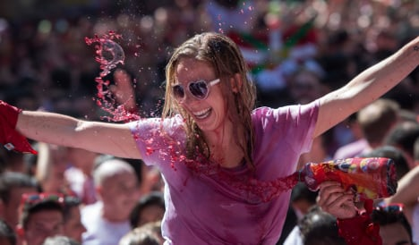 Pamplona in pics: San Fermin bull fest kicks off with a bang