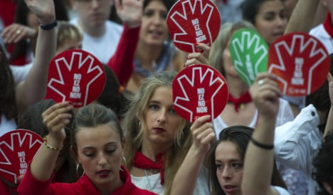 15 arrested for sexual assault at Pamplona bull-running