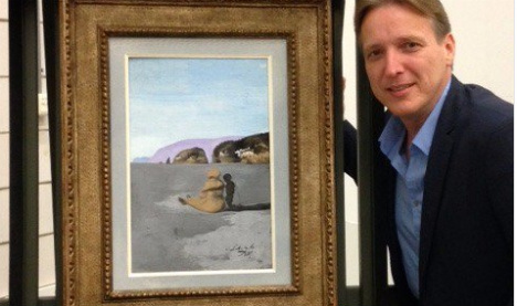 Stolen Dali masterpiece recovered from criminal gang