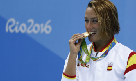 Spain wins first Olympic gold in Rio with 200m butterfly