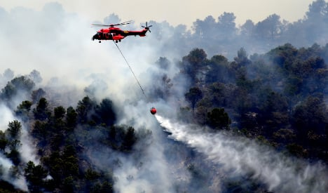 Hundreds evacuated as forest fire rages on Canary Island