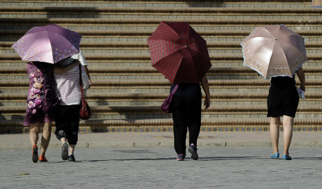 Relief at last: Spain heatwave comes to an end with storms