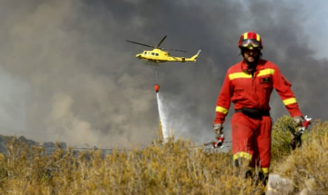 Police hunt for Costa Blanca fire starters
