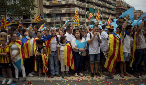 Tens of thousands of Catalans to march for independence