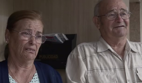 Elderly deaf and dumb couple face eviction over son's debt