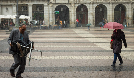 Spain's long summer to end with rainy bank holiday
