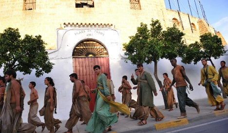 A touch of 'Games of Thrones' magic on small Spanish town