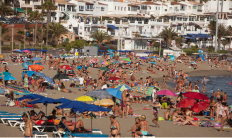 Who loves Spain the most? The Brits of course