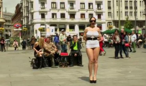 Authorities probe porn films made on city streets in Spain