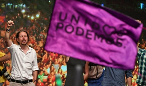 Podemos finds itself caught between the battle lines of Spanish politics