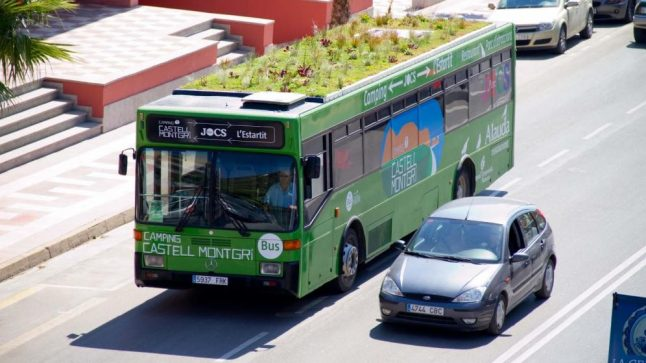 Madrid wants to put gardens on top of its buses