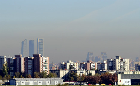 Madrid lifts partial car ban as pollution eases