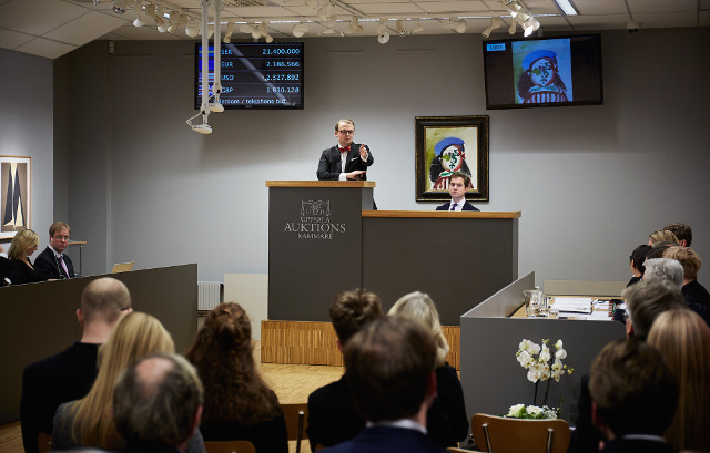 Coveted Picasso paintings sell for a fortune in Sweden