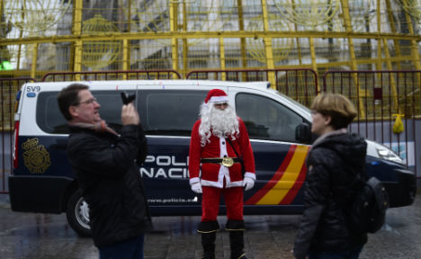 Spain boosts security for Christmas crowds in wake of Berlin attack