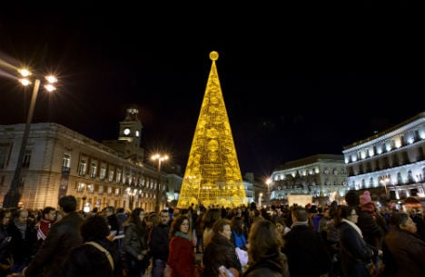 Madrid party square appears in suspected jihadists' video