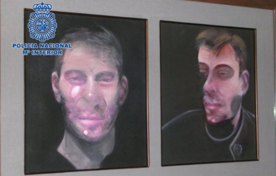 Art thieves suspected of Francis Bacon heist arrested in Madrid