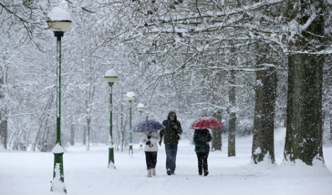 Snow, wind and high seas: Weather warning issued across Spain