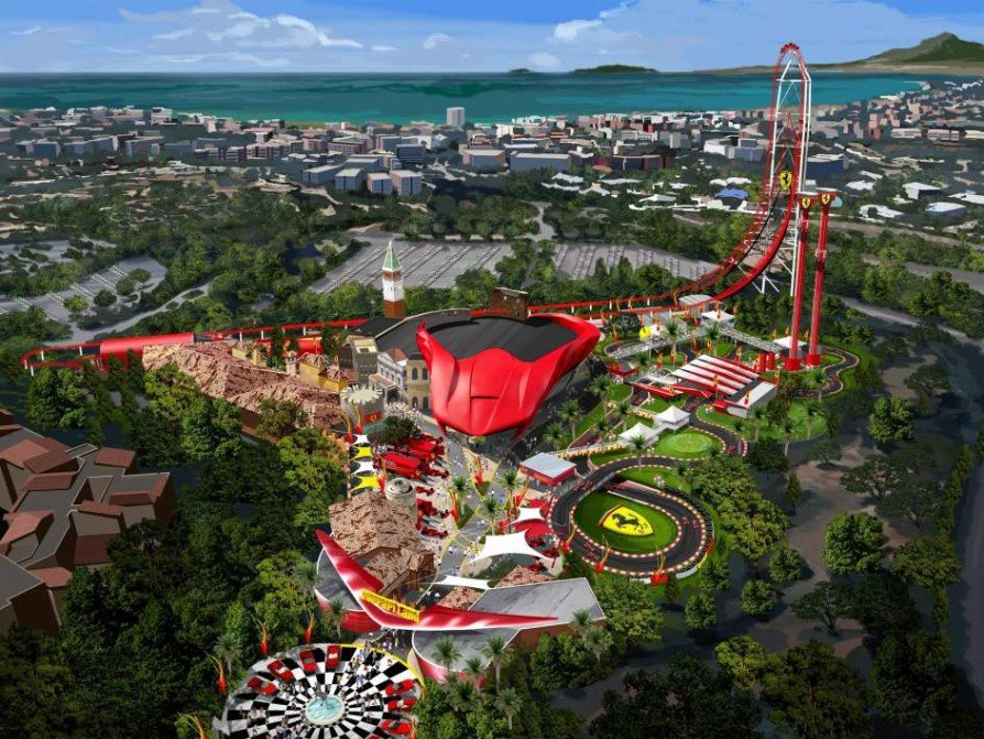 Vrrrroooooom Tickets Go On Sale For Ferrari Land And The Fastest Rollercoaster In Europe The Local