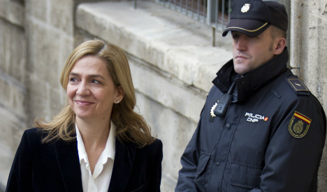 Princess Cristina acquitted in royal fraud trial but husband jailed