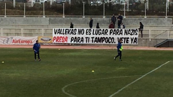 Roman Zozulya dropped after Rayo fans protest over 'neo-Nazi' links