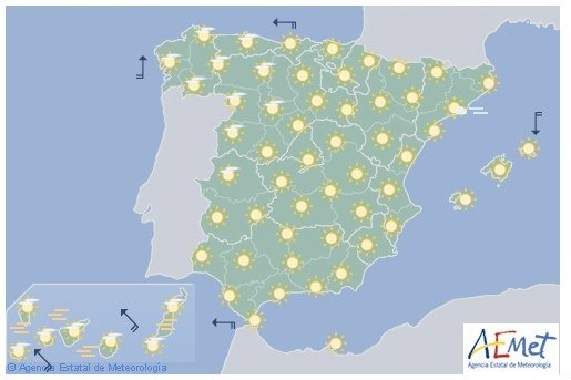 Summer arrives early in Spain (But it won't last beyond the weekend)