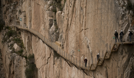 Have you walked 'the world's most dangerous' footpath?