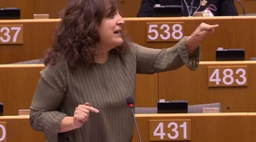 Spanish politician who shut down misogynist wants EU to make an example of him