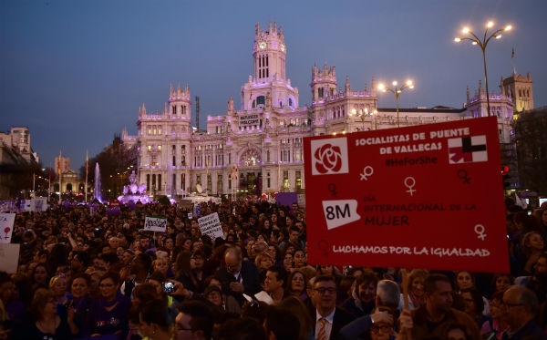 IN PICS: International Women's Day in Madrid draws 40,000 protesters