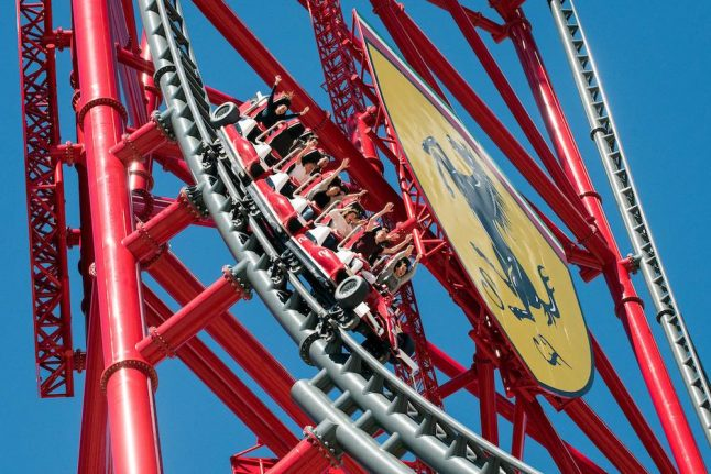 Video: Europe's tallest and fastest rollercoaster just opened in Spain