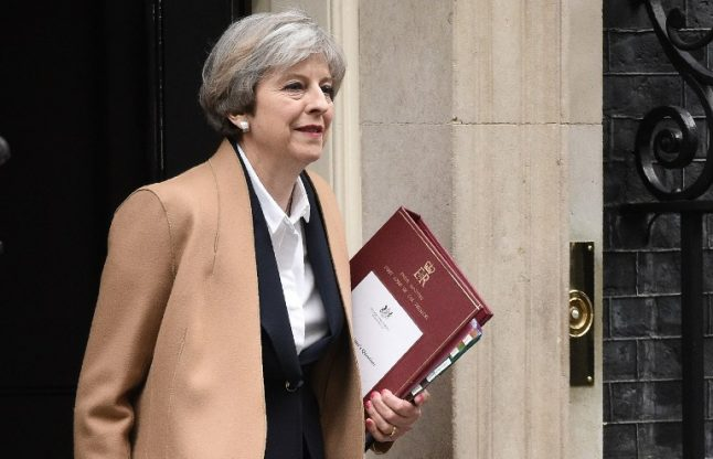 Theresa May says she will 'never' cede Gibraltar to Spain