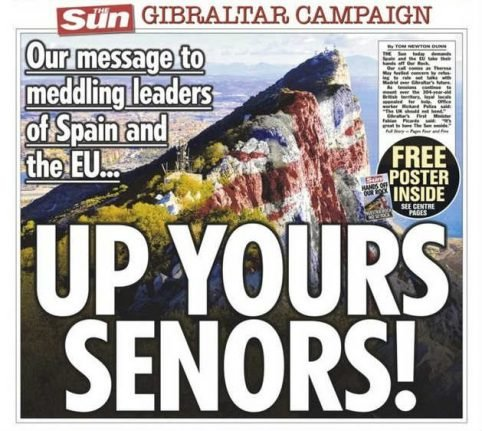 The Sun's Gibraltar campaign is wrong in so many ways