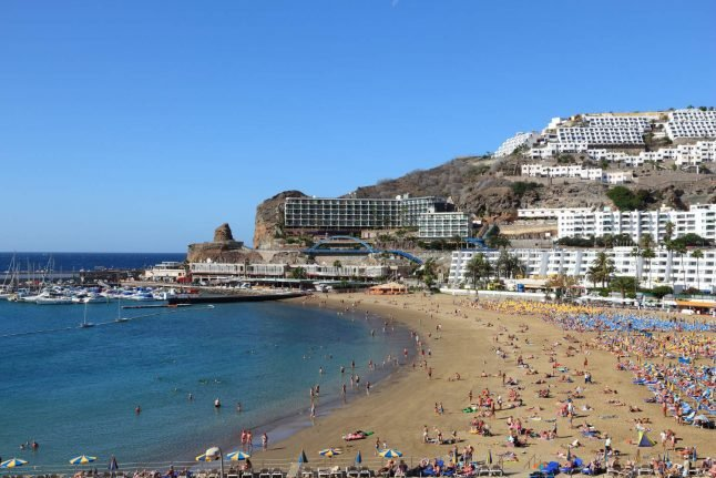Spain's Canary Islands battle slick after ferry accident