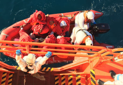 Three migrants drown and 39 others rescued off Spain