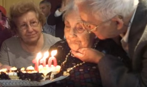 115-year-old Spaniard claims title of oldest woman in Europe
