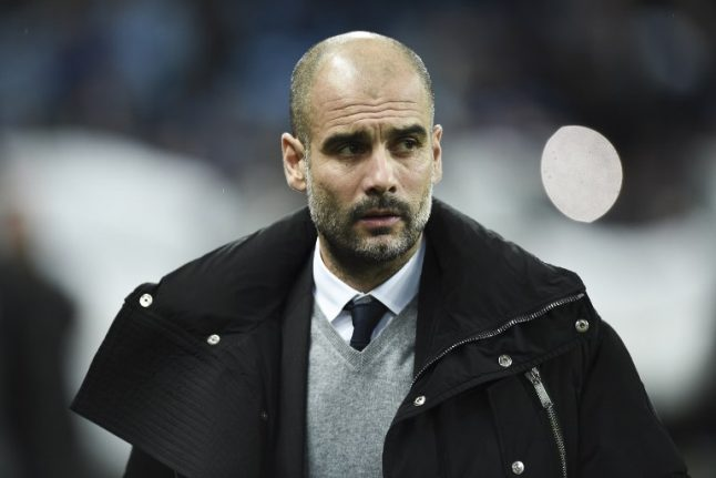 Pep Guardiola targeted in hate tweet after Manchester attack