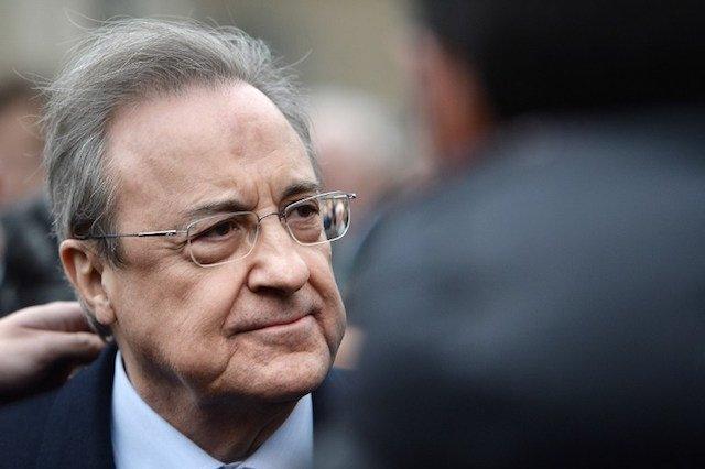 Florentino Perez, Real Madrid boss and building magnate