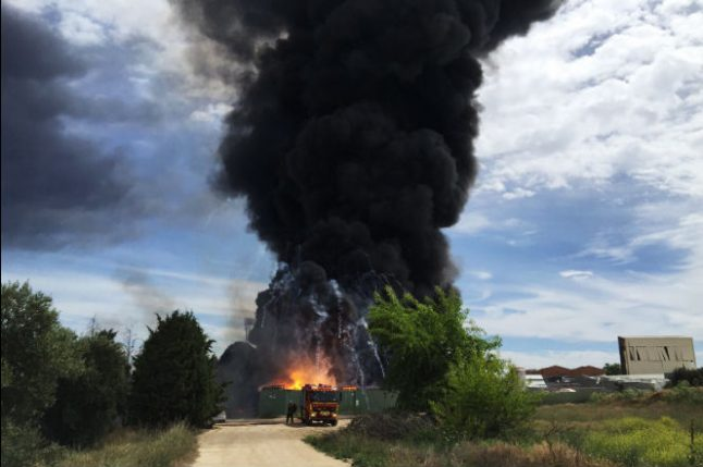At least 30 injured in warehouse blast in south of Madrid
