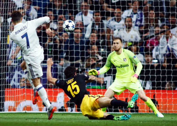 Ronaldo hat-trick leaves Real Madrid on verge of Champions League final