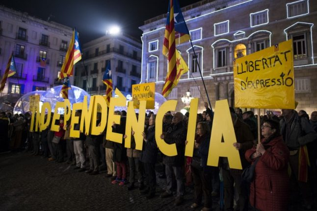 Spanish PM accuses Catalan separatists of 'blackmail'
