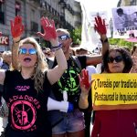'Torture isn't culture': Thousands protest bullfighting in Madrid