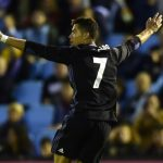 Ronaldo double puts Real Madrid on verge of title