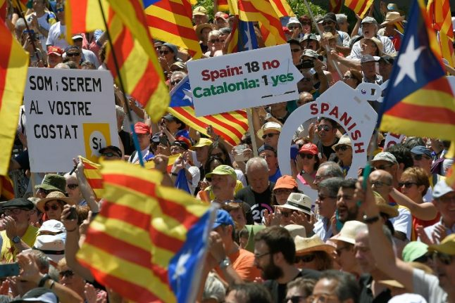 Spain is bracing for rising tensions over Catalonia independence drive